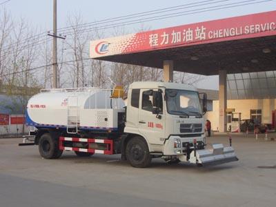 东风天锦8方型清洗车