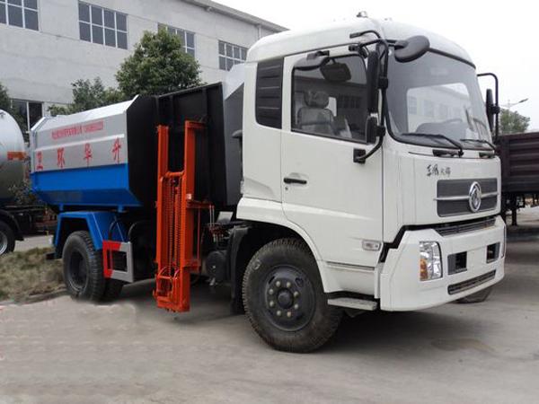 天锦12方挂桶垃圾车(国五)