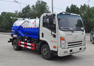 程力威牌CLW5080GXWCG5型吸污车